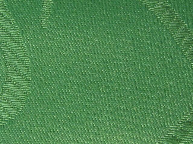欧式绿色壁纸配窗帘效果图