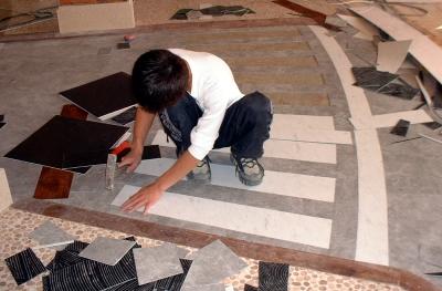 PVC地磚 塑膠地磚 塑膠地板 修補3大問題